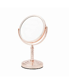 Danielle Midi 5 Times Magnification Vanity Mirror with Crystal Studded Stem