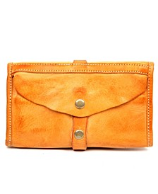 Out West Leather Clutch