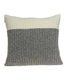 Wilson Transitional Tan Pillow Cover With Down Insert
