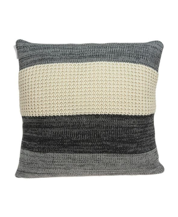 Parkland Collection Gio Transitional Multicolor Pillow Cover with Polyester Insert