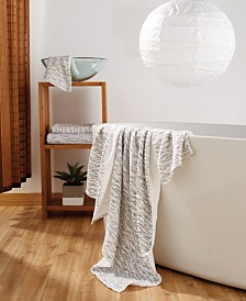 Uchino Cloud Print 100% Cotton Towel Collection