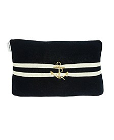 Bounty Nautical Blue Pillow Cover with Polyester Insert