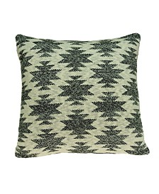 Parkland Collection Awnee Southwest Tan Pillow Cover With Down Insert