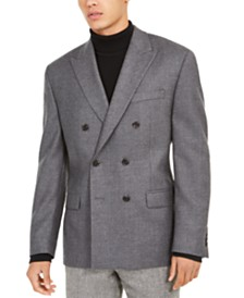 Lauren Ralph Lauren Men's Classic-Fit Twill Double-Breasted UltraFlex Sport Coat