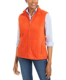 Sport Zip-Up Zeroproof Fleece Vest, Created for Macy's