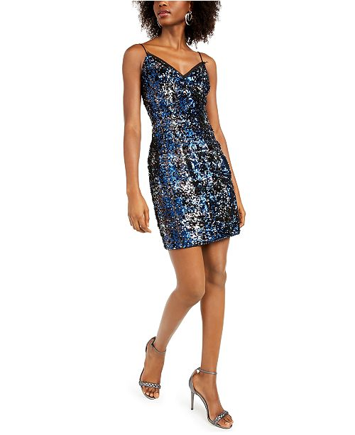 Aidan by Aidan Mattox Sequin Bodycon Dress