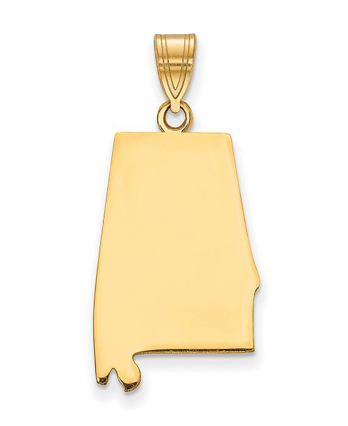 Macy's State Charm in 14k Yellow Gold