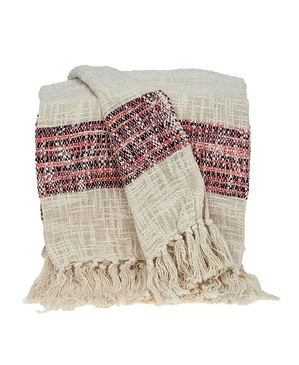Parkland Collection Meena Transitional Handloomed Throw