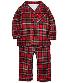 Baby Boys 2-Pc. Plaid Pajama Set