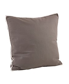 "Cord Trim Pillow - Cover Only, 22"" x 22"""