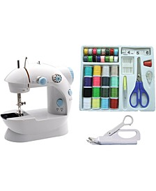 LSS-202C Mini Sewing Machine and Accessories