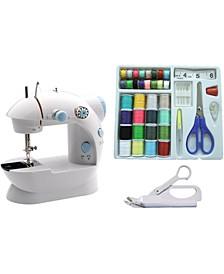 LSS-202C Mini Sewing Machine and Accessories