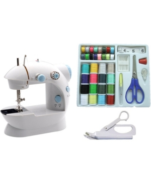 Michley Lss-202C Mini Sewing Machine and Accessories