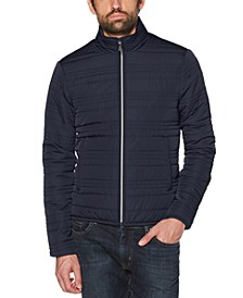 Men's Slim-Fit Quilted Jacket