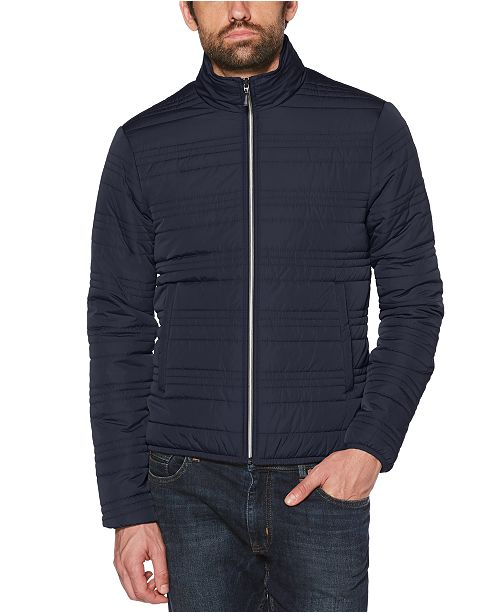 Original Penguin Men's Slim-Fit Quilted Jacket