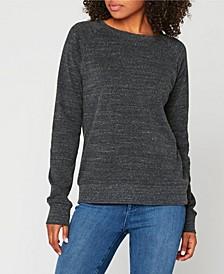 Triblend Crew Neck Pullover Sweatshirt