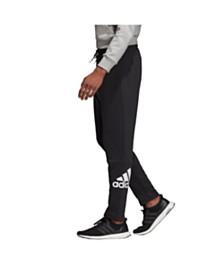 Adidas Men's Badge of Sport Tapered Fit Open Hem Pant