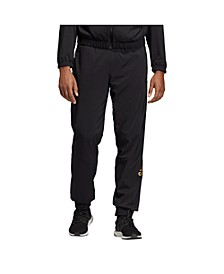 Men's Metallic Tapered Sweatpants