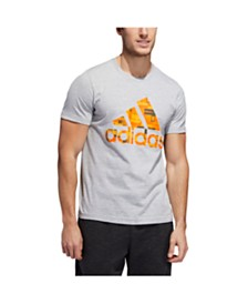 Adidas Men's Badge of Sport Flags of the World Graphic T-Shirt