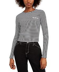 Cotton Striped Top