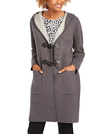 Charter Club Hooded Coatigan, Created for Macy's