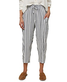 Juniors' Striped Soft Pants