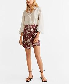 Mango Printed Miniskirt