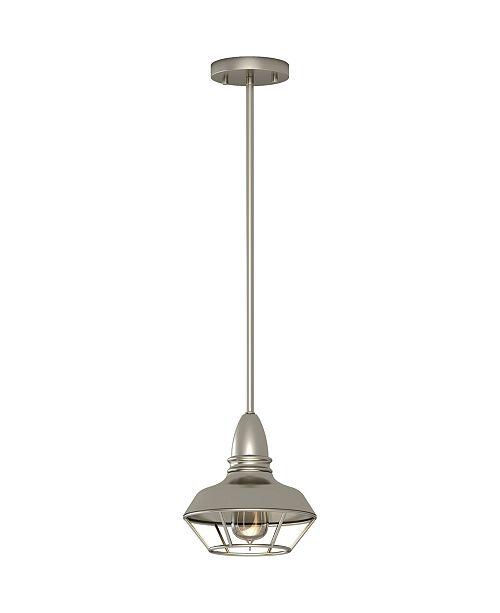 Volume Lighting 1-Light Mini Downrod Pendant