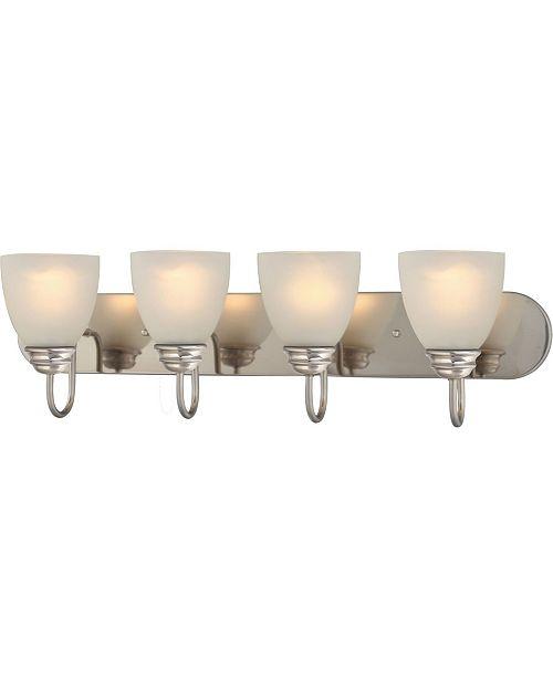 Volume Lighting Mari 4-Light Bath or Vanity Light Bar or Wall Mount