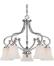 Tes 5-Light Hanging Chandelier
