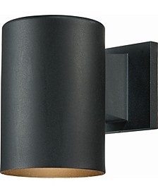 1-Light Cylinder Wall Sconce