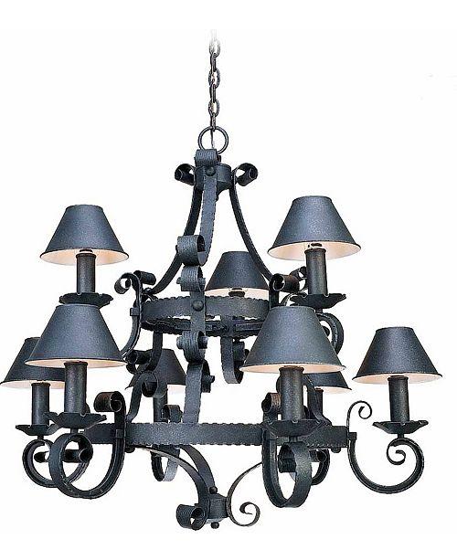 Volume Lighting Kingston 9-Light Hanging Chandelier