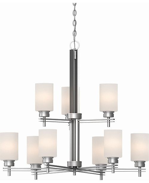 Volume Lighting Carena 9-Light Hanging Chandelier