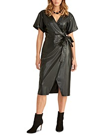 Ilisa Crossover Side-Tie Dress