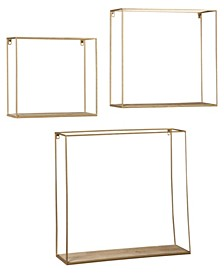 Ashley Furniture Efharis Wall Shelf Set of 3