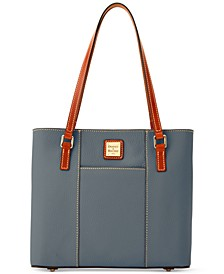 Pebble Leather Lexington Tote
