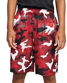 Big Boys Dri-FIT Camo-Print Shorts