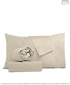 Brushed 400 Thread Count Cotton Sheet Set