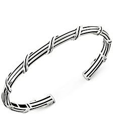 Cuff Bracelet in Sterling Silver