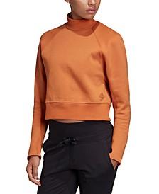 Women's Varsity Cropped Sweatshirt