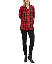 Plaid Shirts For Women Macy S