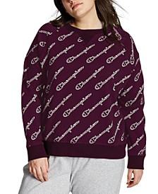Plus Size Heritage Logo-Print Sweatshirt