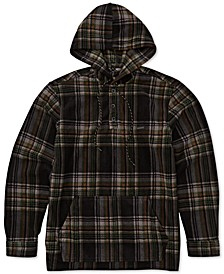 Men's Fleece Flannel Hoodie