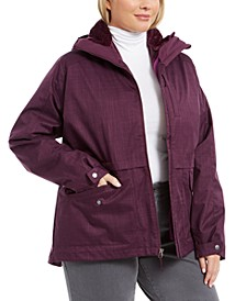 Plus Size Mount Erie Interchangable Jacket