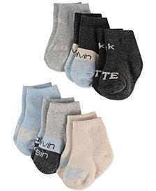Calvin Klein Baby Boys or Girls 6-Pk. Logo Socks