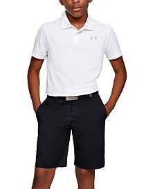 Under Armour Big Boys Match Play Golf Shorts