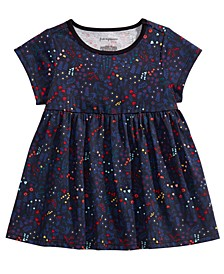 Baby Girls Cotton Floral-Print Tunic, Created For Macy's