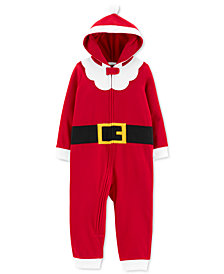 Carter's Toddler Boys 1-Pc. Santa Suit Dress Up Pajamas