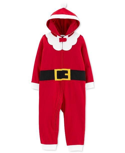 Carter's Toddler Boys 1-Pc. Santa Suit Dress Up Pajamas