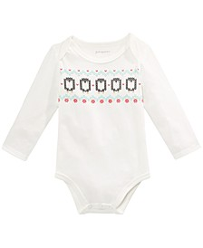 Baby Boys Penguins Bodysuit, Created For Macy's